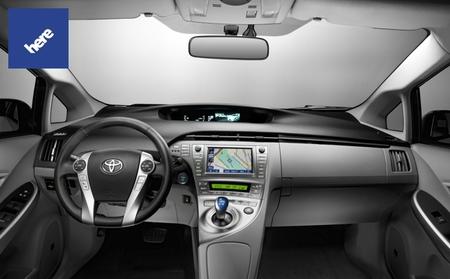 Toyota utilizará los mapas Here de Nokia en los navegadores GPS de sus coches