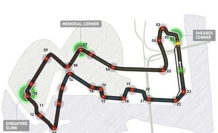 GP de Singapur 2011, sesiones libres del viernes