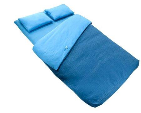 Saco de dormir con colchón incorporado de Decathlon