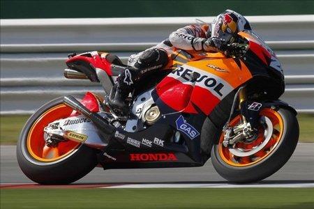 MotoGP San Marino 2010: los primeros libres dan algunas pistas