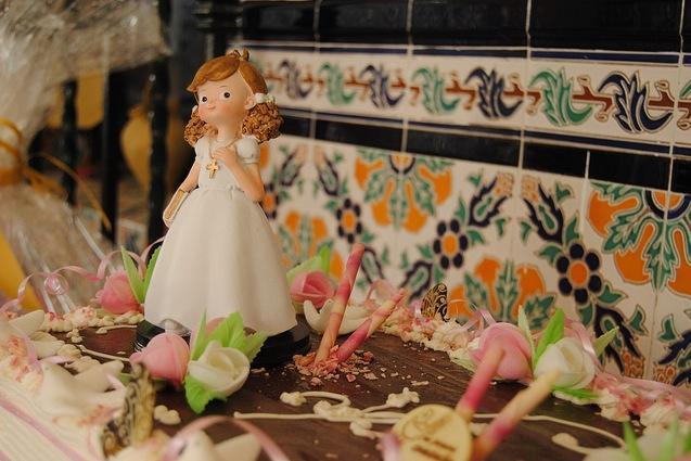 Primera comunión tarta