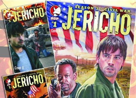 'Jericho' vuelve en forma de cómic, Comic-Con '09