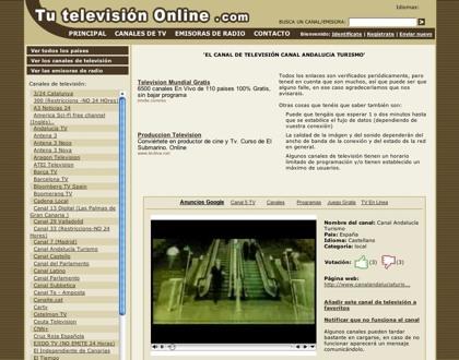 Tutelevisiononline, viendo canales analógicos, digitales y online de más de 166 países