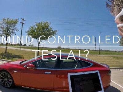 Alucina: un Tesla Model S que se mueve con la mente