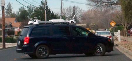 Misteriosos coches de Apple apuntan a una posible versión de Street View en Mapas