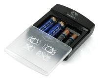 Cargador de <s>pilas</s> baterías por USB