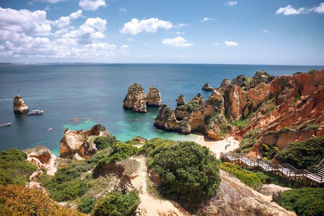 Compañeros de ruta Playa Algarve Portugal
