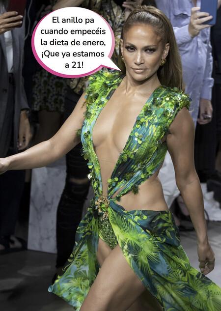 Esta es la dieta que sigue Jennifer López para mantener ese cuerpazo de infarto a sus 51 años