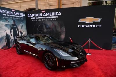 """Chevrolet llega a la pantalla grande con el """"Capitán América"""""""