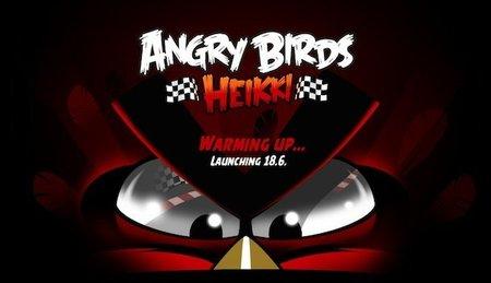 Angry Birds Heikki, pajaros y Fórmula 1