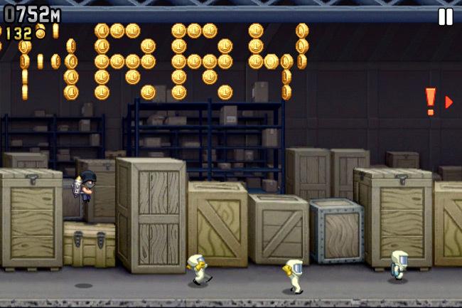Los mejores juegos gratis para iOS - Endless Runners - jetpack