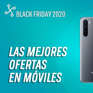 Los 54 mejores móviles en oferta por el Black Friday 2020 hoy 25 de noviembre: iPhone 11 por 589€, OnePlus Nord por 327€ y más