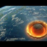 Contempla cómo un meteorito de 500 kilómetros de diámetro arrasa la Tierra
