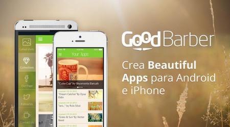 GoodBarber, servicio web para crear tu app móvil sin tener conocimientos de programación