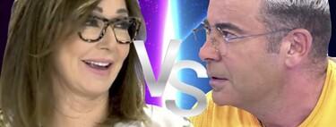 """Jorge Javier Vázquez y Ana Rosa Quintana, enfrentados por las productoras de sus programas: """"¡Esto es la guerra!"""""""