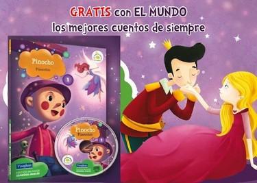"""Colección """"Los mejores cuentos de siempre"""", bilingües en audio y libro"""