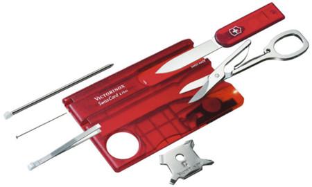 Las herramientas en formato tarjeta de Victorinox