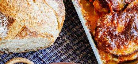 Berenjenas con mozzarella. Receta fácil para el verano