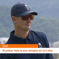 """No, RTVE no escribió """"glory hole"""", un término sexual, en un rótulo sobre el golf olímpico"""