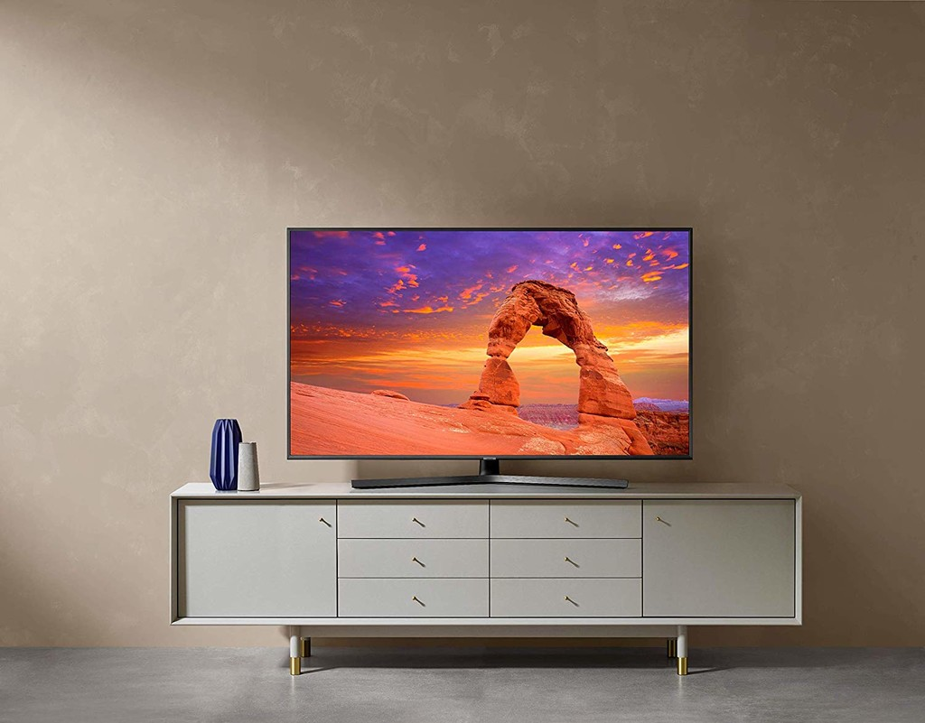 """TV LED 55"""" - Samsung 55RU7405, 4K UHD Real, HDR, Smart TV, Ultra Dimming, One Remote Control"""