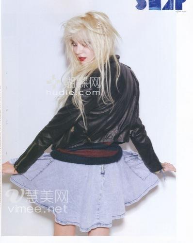 El estilo de moda es ser rebelde, como Taylor Momsen III