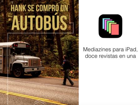 Mediazines trae un nuevo modelo de revistas interesantes para iPad