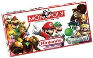 Monopoly Mario Bros y otros