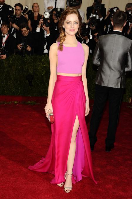 Emma Stone de Thakoon Gala MET 2014