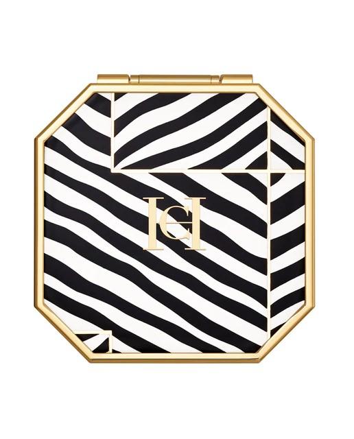 Estuche y estampado The Compact Zebra Carolina Herrera