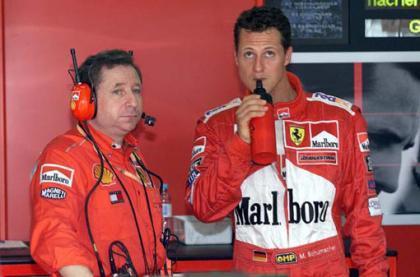 Michael Schumacher rechazó la dirección deportiva de Ferrari