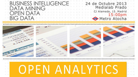 Open Analytics, el evento para el tratamiento de Big Data con software libre