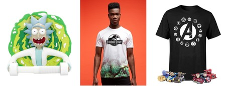 Ofertas de Zavvi en camisetas, merchandising y regalos de Avengers, Rick Y Morty o Jurassic Park
