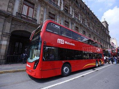 La nueva línea de metrobús de Ciudad de México estrenará autobuses de doble piso
