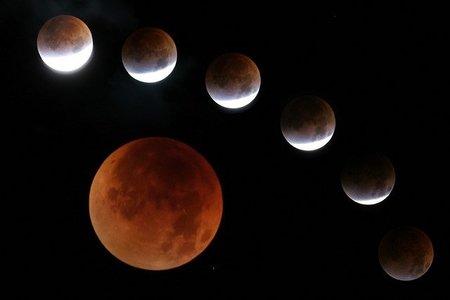 Calendario de eclipses para el 2011