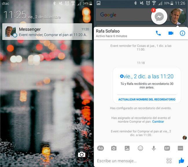 How to create reminders in Facebook Messenger – phoneia