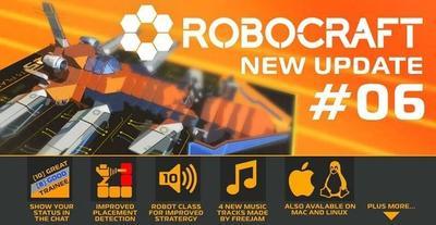 Ya podrás jugar Robocraft en Mac y Linux
