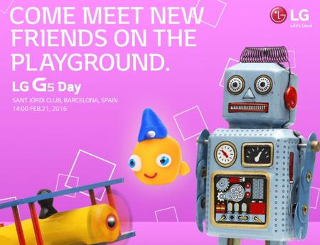 Es oficial: conoceremos el LG G5 durante el MWC 2016 en Barcelona