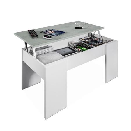 Podemos estrenar esta mesa de centro elevable para  comedor o salón por sólo 39,95 euros en eBay gracias a su Super Weekend
