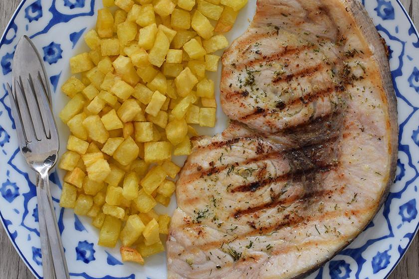 Pez espada a la plancha receta de cocina f cil sencilla for Cocinar pez espada a la plancha