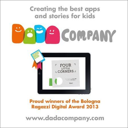 La editorial española DADA Company premiada con el Bologna Ragazzi Digital Award 2013 en la categoría de ficción