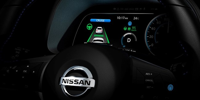 Controles Nissan Leaf