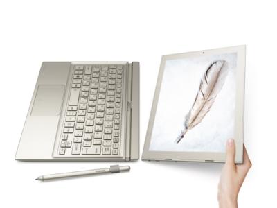 Toshiba DynaPad es la alternativa más ligera y delgada a Surface