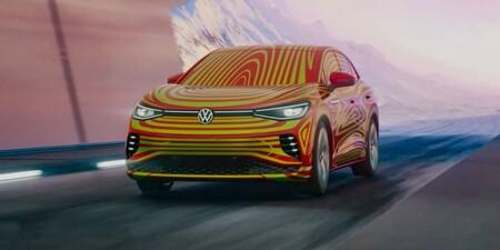 Volkswagen ID.5, el próximo lanzamiento de la gama eléctrica hace una breve aparición