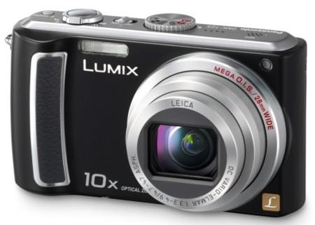 Panasonic Lumix DMC-TZ5 y DMC-TZ4, con zoom óptico 10x y angular de 28 mm