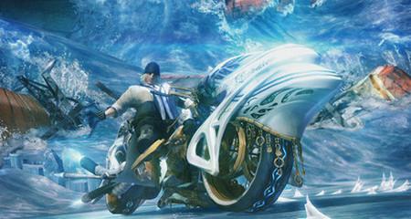 'Final Fantasy XIII': la invocación Shiva, será una moto. Primeras imágenes