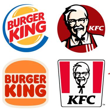 Las cadenas de comida rápida vuelven a sus logos de los 80 para apelar a un pasado en el que no importaba cuántas calorías tenía un Whopper