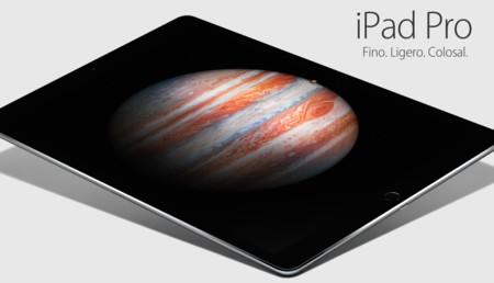 El iPad Pro de 12,9 pulgadas ya tiene fecha de lanzamiento... ¡y es este miércoles!
