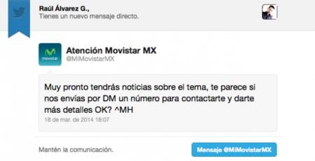 Movistar Twitter