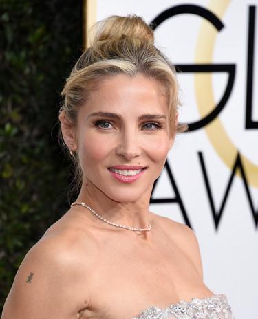 Correcta pero sin enamorarnos, Elsa Pataky aprueba en la alfombra roja de los Globos de Oro 2017