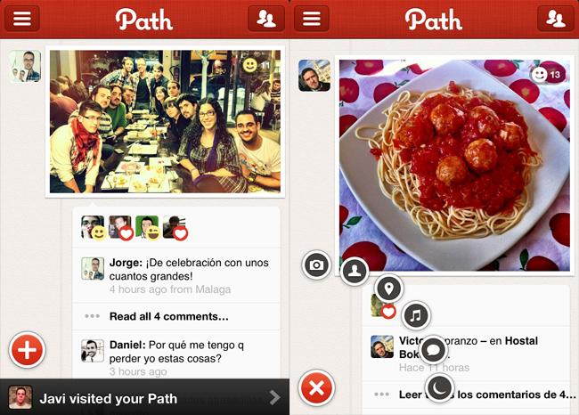 Path 2 para iPhone